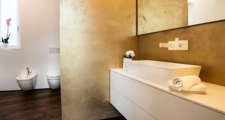 Bagno nuovo realizzato in collaborazione con Mangodesign